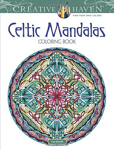 Creative Haven Celtic Mandalas Coloring Book Books