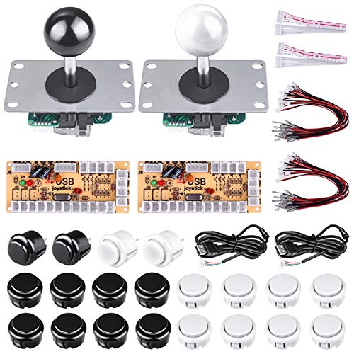 New Arrival DIY Arcade Panel Acrylic Inclined+Joystick Case