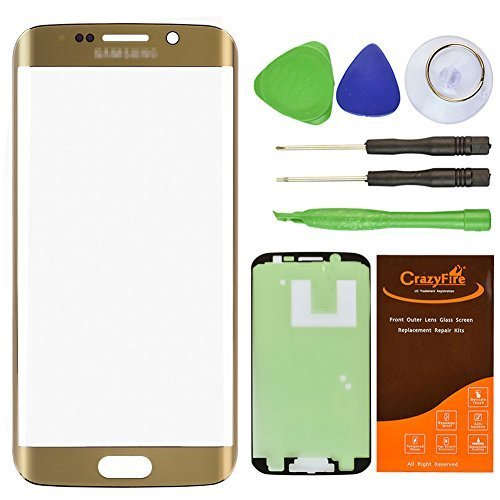 LUVSS New Back Glass Replacement Samsung Galaxy S6 Edge G925