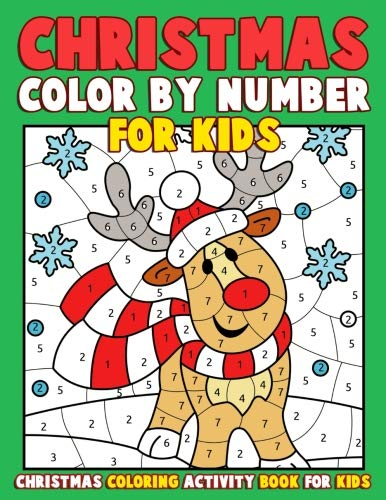 Crayola Gigantic 224 Pages Color By Number Kids Coloring ...